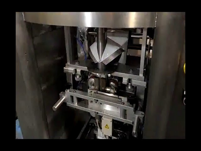 1000ml Lodret formfyldt tætningsmaskine med vægt til sukker