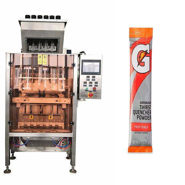 Majhna vrečka-Powde-Multi-Line-Packing-Machine