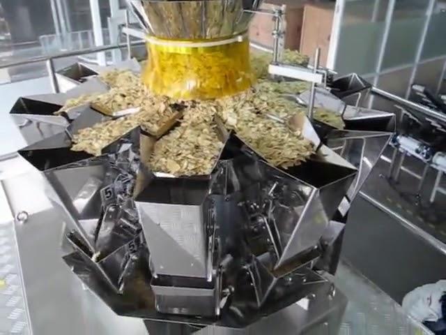2 kg automatikoa Enbalatzeko makina automatikoa Inprimaki bertikalean Bete zigilua mota