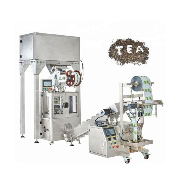 آليّ عشبيّ شاي نايلون أهرام تعليب آلة لعلبة شاي
