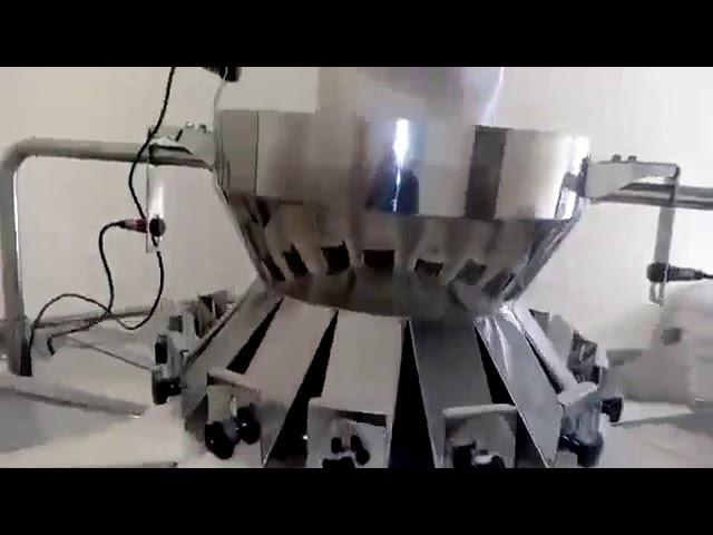 Peseuse associative automatique utilisée pour la ligne de machine d'emballage pour le remplissage par remplissage à la verticale