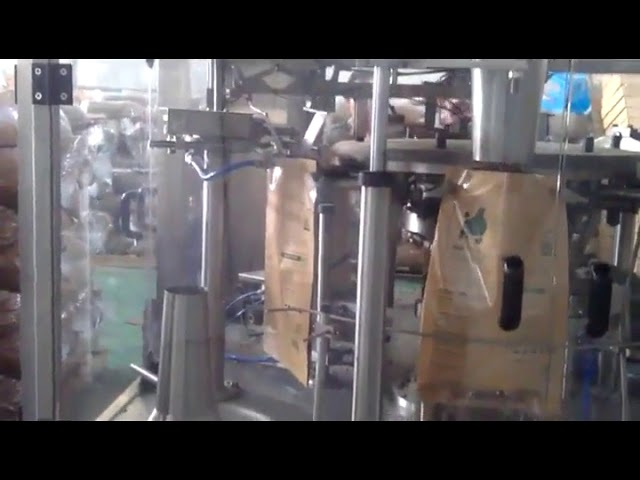 Automatic Stand up Bag Premade Pouch Packing Machine