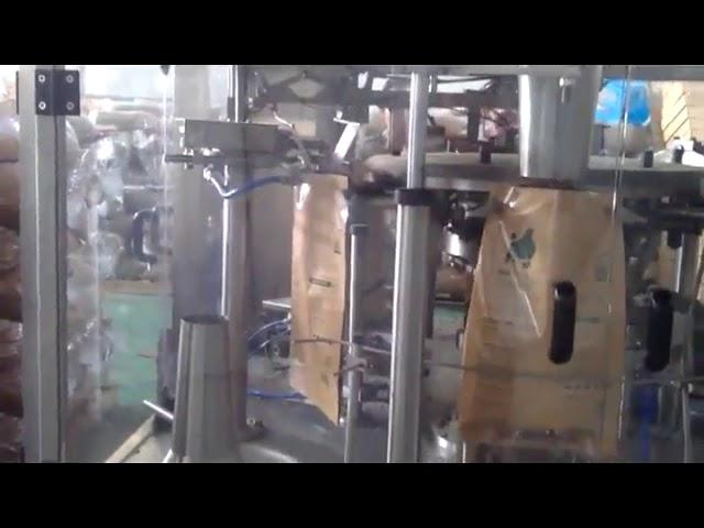 Estalki automatikoa Bag Premade Pouch Enbalatzeko makina