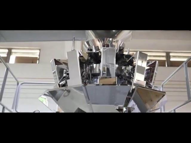 Automatic Vertical Grain Sugar Bean Rice Packing Machine