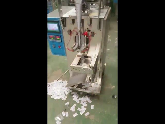 Kina leverandør Automatisk Lodret Pude Pouch Chips flydende Snack Packing Machine