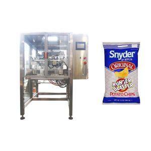 machine à emballer verticale de granule de casse-croûte de mouvement continu