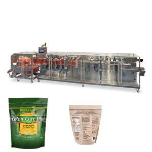 doypack prah zrnca za pakiranje vodoravno obliko izpolnite pečat stroj