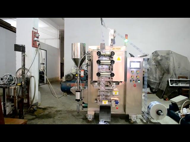 Automatisk sauce pot vertikal form fyldning pakning maskine
