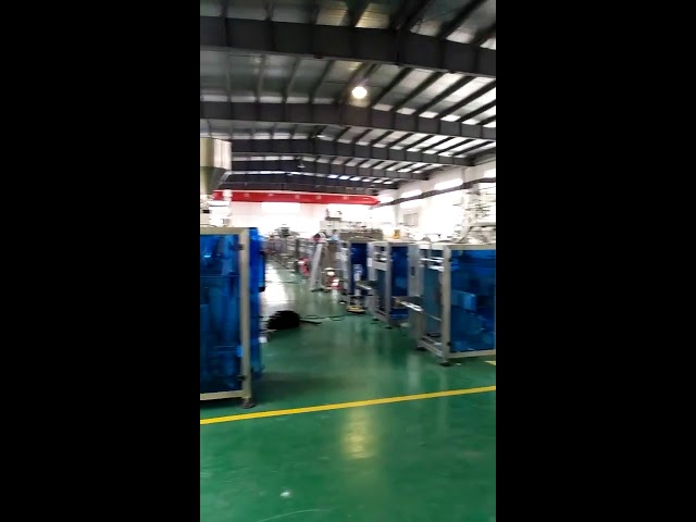 Flow packing machine for candy sugar for USA market