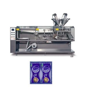 form fill seal twin-sachet horizontal packing machine
