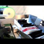 Tam otomatik karton kutu paketleme hattı poşet kartonlama makinesi fiyatı