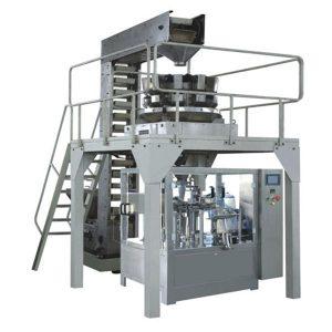 granulatvægte præmade pose roterende pakningsmaskine