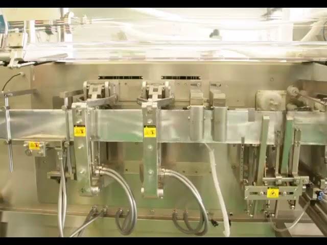 Yüksek hızlı düz poşet tozu paketleme sıvı paketleme makinesi