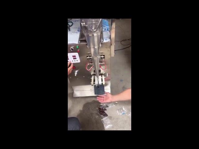 מים מהיר טהור עגבניות קטשופ הדבק קטן שקית מילוי מכונת אריזה
