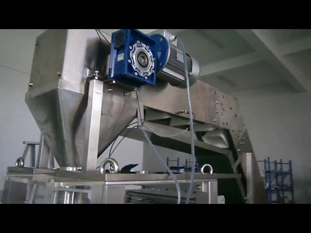 haute machine de conditionnement de nouilles de riz humides de précision de pesage