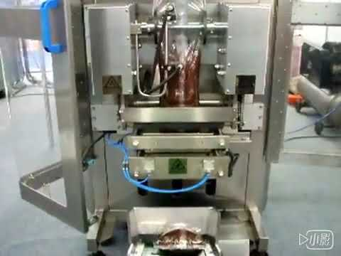 Honey Liquid Sachet Packing Machine / Vandtaske Ketchup Packing Machine pris