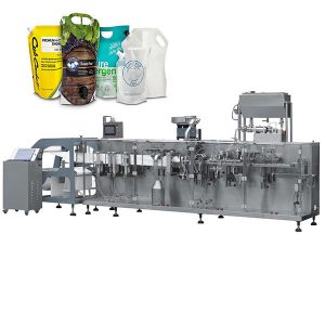 ketchup doypack standup pouch packaging machine