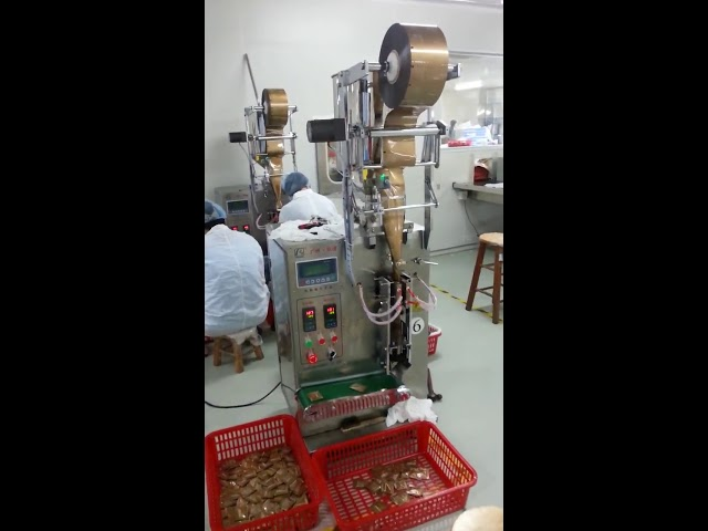 מחיר נמוך אוטומטי שקית שקית נוזלי מכונת אריזה