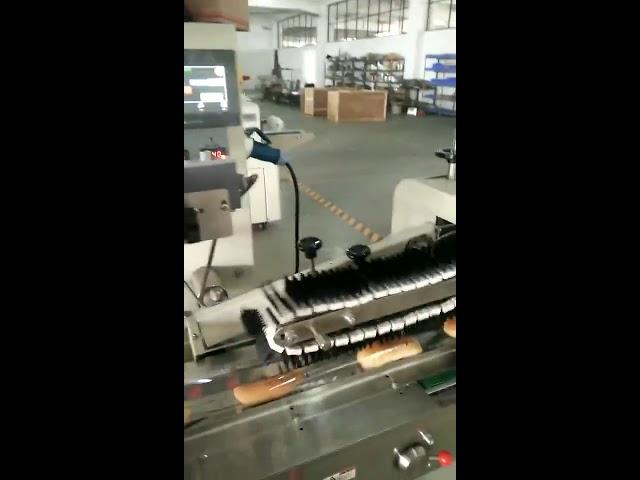 מכונה ידנית לאריזת שקיות אופקית