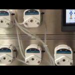 मिनी स्वयंचलित प्लास्टिक ampoule sealing मशीन तोंडी आणि सिरप द्रव भरण्याचे मशीन भरत तयार
