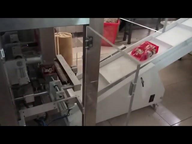 Pulver Lodret Pakning Fyldning Pakning Maskine Auger Fyldningsmaskine