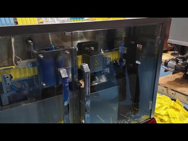 PVC PAPE R Oralna tekoča polnilna in zapiralna naprava Plastični ampuli Izpolnite Seal Pakirni stroj