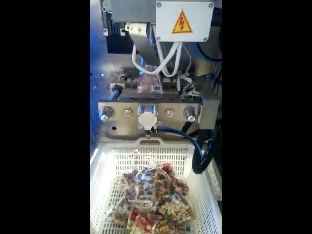 Små lodret formfyldningspakning maskine type til mad