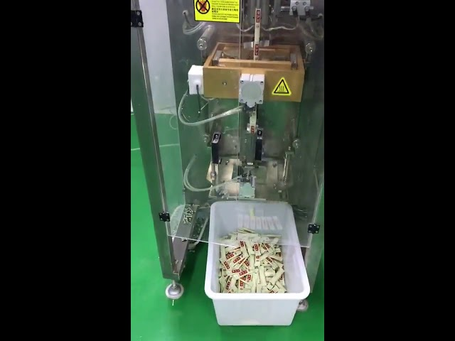 Küçük dikey poşet 3g 5g kahve tozu paketleme makinesi otomatik