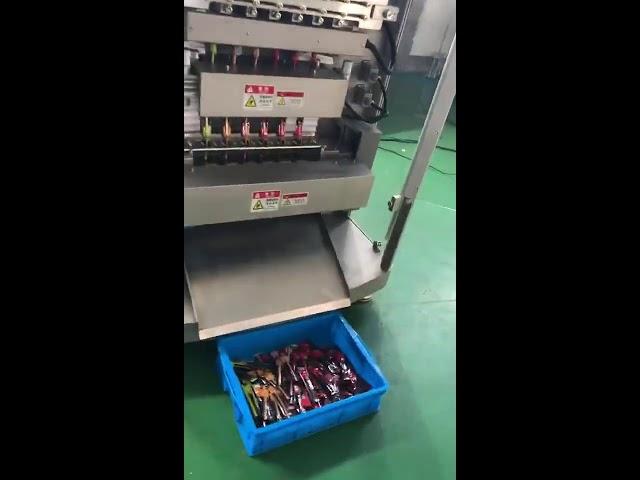 टॉप ग्रेड हाय एंड व्हाइट शर्करा दुध पावडर स्टिक बॅग पॅक मल्टी लाइन सॅथेक पॅकिंग मशीन