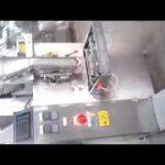 Machine à emballer verticale de sac de sachet de poudre de cachetage de 4 côtés