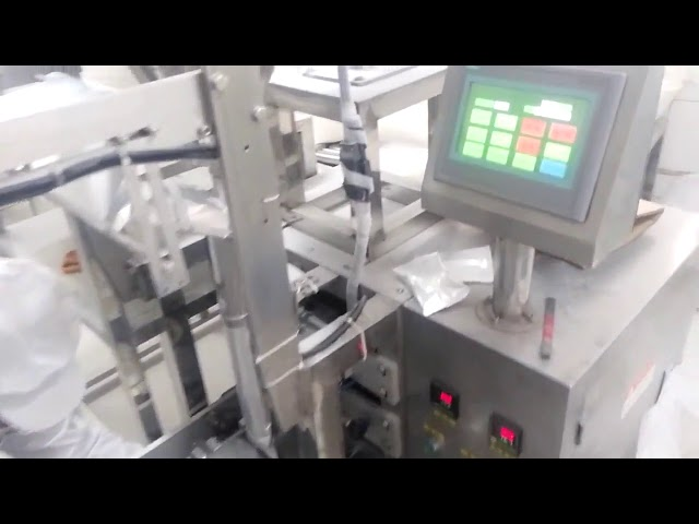 Lodret Small Scale Pulver Sachet Fyldning Packing Machine