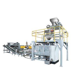 ztcp-50p automatic powder woven bag packing machine